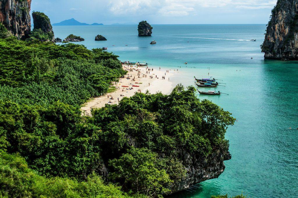 Thajsko pláž Railay
